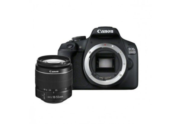 Canon eos 2000d + DC iii 18-55 mm